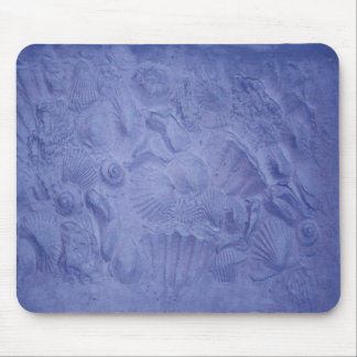 Blue Shells Mouse Pad