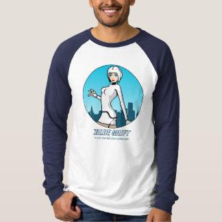 Blue Shift - 'Seesix' Long Sleeve T-Shirt