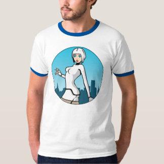 Blue Shift - 'Seesix' Men's Ringer T-Shirt