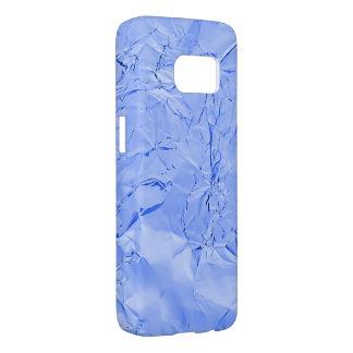 blue shiny foil