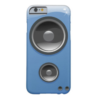 Blue Shiny Speaker Barely There iPhone 6 Case