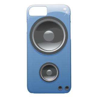 Blue Shiny Speaker iPhone 7 Case