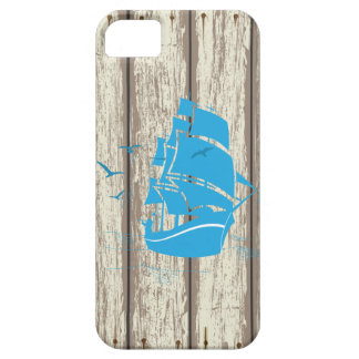 Blue Ship iPhone 5 Cases