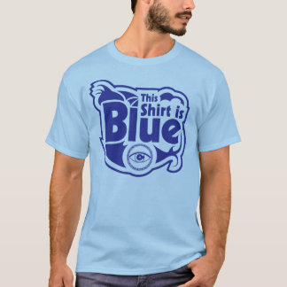 Blue Shirt for the Colorblind