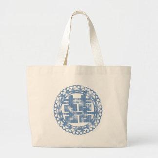 Blue Shuan Xi Jumbo Tote Bag