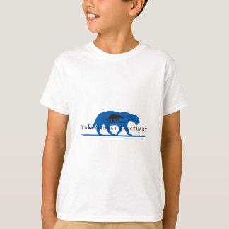 Blue Silhouette Logo T-Shirt