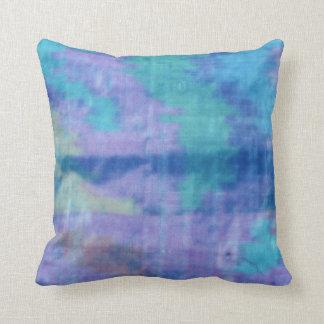 Blue Silk Cushion