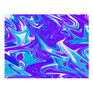 Blue_Silky_Liquid_Sky,_ Postcard