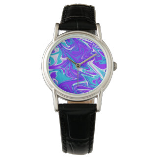 Blue Silky Marbleized Sky, Watch