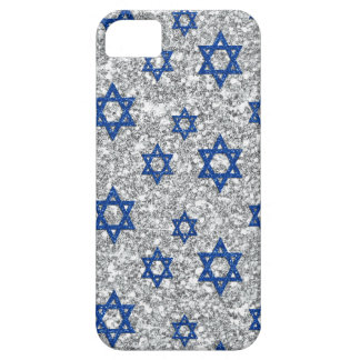blue-silver-david-stars iPhone 5 cases