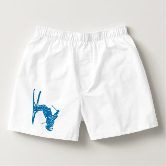 Blue-Skier Boxers