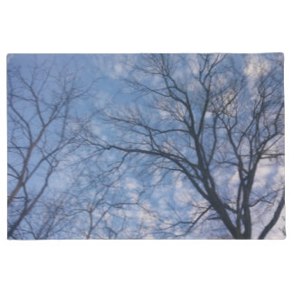 Blue Skies Above and Below Doormat