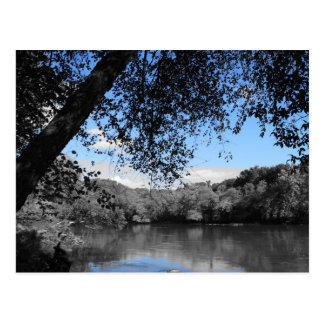 Blue Skies and Lakes Post Card