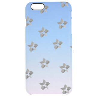 Blue Skies and Stars Clear iPhone 6 Plus Case