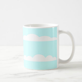Blue Skies Background Coffee Mug