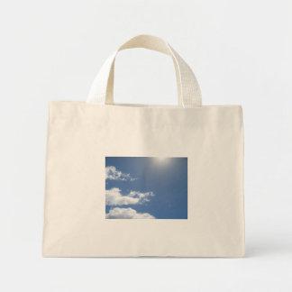 Blue Skies canvas bag