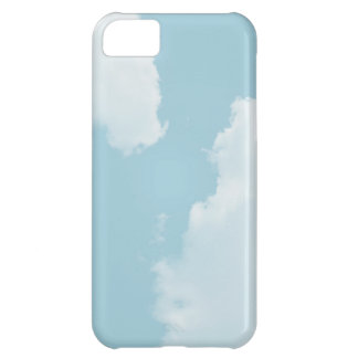 Blue Skies Clouds iPhone 5C Covers