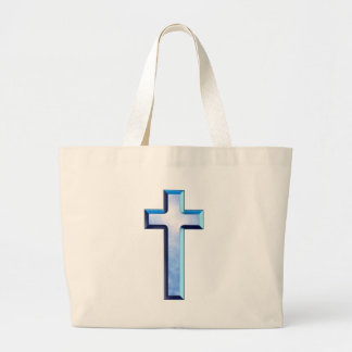 Blue Skies Cross Canvas Bags