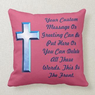 Blue Skies Cross Cushion