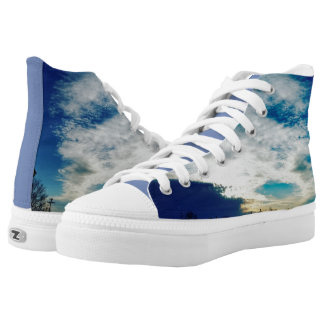 Blue Skies High Tops