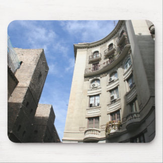 Blue Skies In Barcelona Mousepads