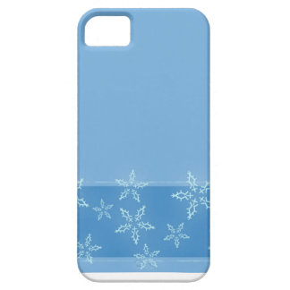 Blue Skies, Snow Crystals, Accumulation Case For The iPhone 5