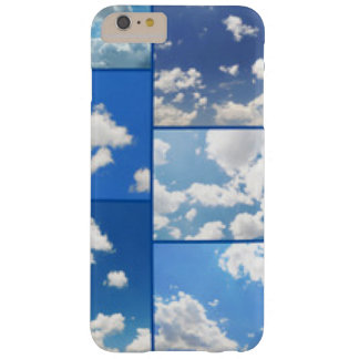 Blue Skies & White Clouds Collage Barely There iPhone 6 Plus Case