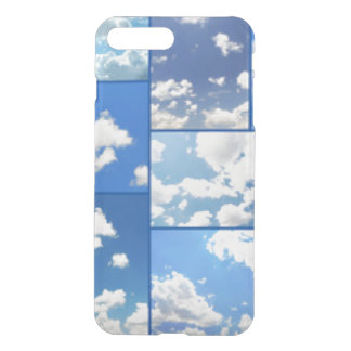 Blue Skies & White Clouds Collage iPhone 8 Plus/7 Plus Case
