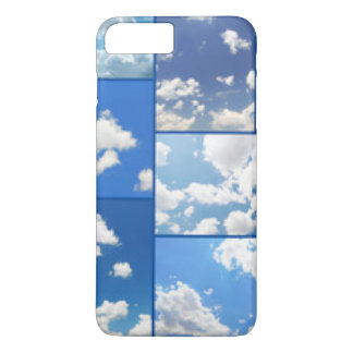 Blue Skies & White Clouds Collage iPhone 8 Plus/7 Plus Case