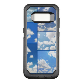 Blue Skies & White Clouds Collage OtterBox Commuter Samsung Galaxy S8 Case