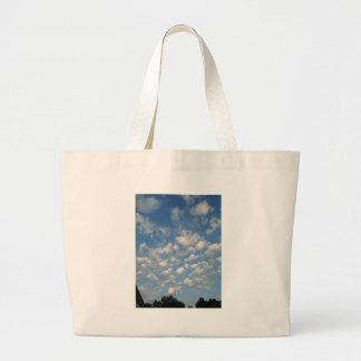 Blue Skies with while clouds Tote Bag