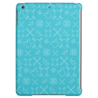 Blue Skull and Bones pattern