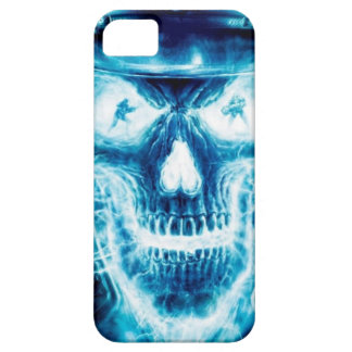 Blue skull case for Iphone 5