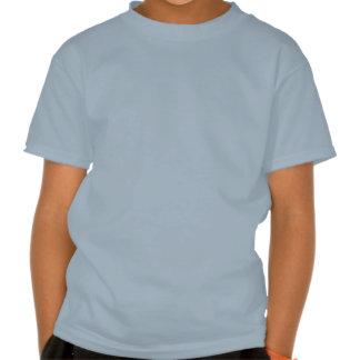 Blue Skull Design T Shirt