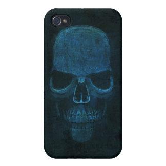 Blue Skull iPhone 4 Case
