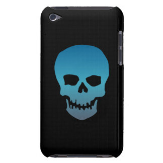 Blue Skull iPod Case-Mate Case