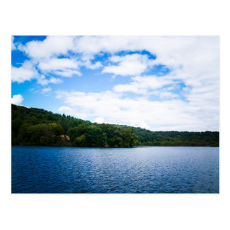 Blue Sky and Calm Waters in Spring Postcard