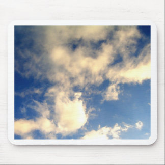 Blue Sky and Clouds CricketDiane Mousepads