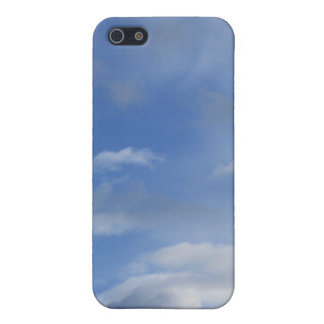 Blue sky and clouds iPhone 5/5S covers