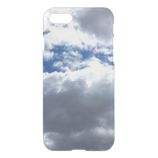 Blue sky and clouds iPhone 7 case
