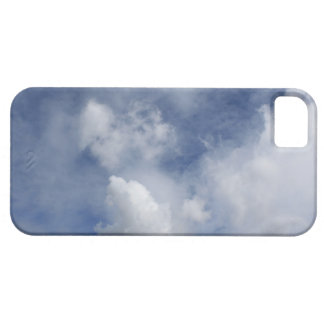 blue sky and cotton white clouds iPhone 5 case