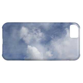 blue sky and cotton white clouds iPhone 5C case
