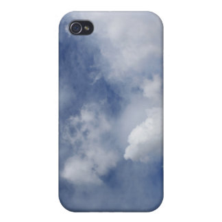 blue sky and cotton white clouds iPhone 4/4S covers