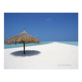 Blue sky and sea 16 postcard