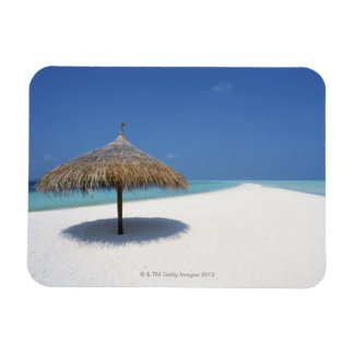 Blue sky and sea 16 rectangle magnet