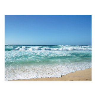 Blue sky and sea 18 postcard