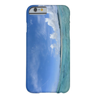 Blue sky and sea 3 barely there iPhone 6 case