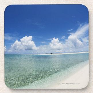 Blue sky and sea 4 coaster