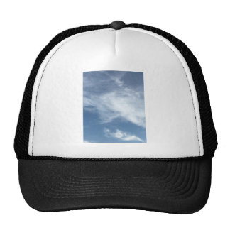 Blue Sky and  White Clouds Cap