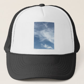 Blue Sky and  White Clouds Trucker Hat